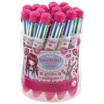 Olovka kemijska Multi Pen Drum My Gift To You 8boja pk16 Gorjuss 503GJD05
