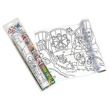 Bojanka u roli samoljepljiva 30cmx4m Zabavni park Global Notes 872808