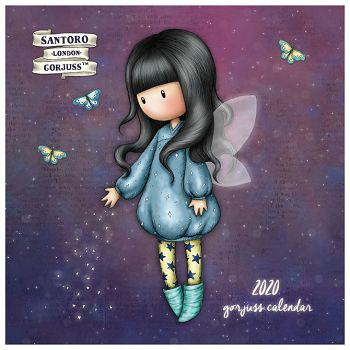 Kalendar 2020 zidni Bubble Fairy Gorjuss CAWA143