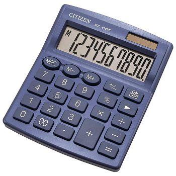 Kalkulator komercijalni 10mjesta Citizen SDC810NRNVE plavi blister
