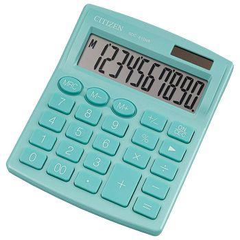 Kalkulator komercijalni 10mjesta Citizen SDC810NRGNE zeleni blister