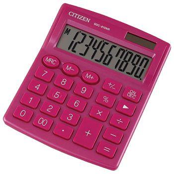 Kalkulator komercijalni 10mjesta Citizen SDC810NRPKE rozi blister