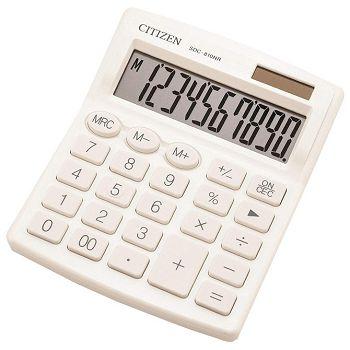 Kalkulator komercijalni 10mjesta Citizen SDC810NRWHE bijeli blister
