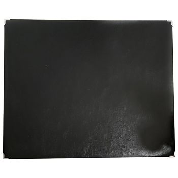 Mapa stolna umjetna koža 55x45cm Erah crna