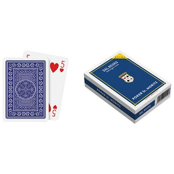 Karte igraće za poker StMoritz extra  Dal Negro plave