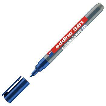 Marker za bijelu ploču 1mm Edding 361 plavi