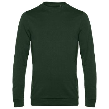 Majica dugi rukavi BC Set In 280g tamno zelena S
