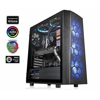 Kućište Thermaltake Versa J24 Tempered Glass RGB Edition