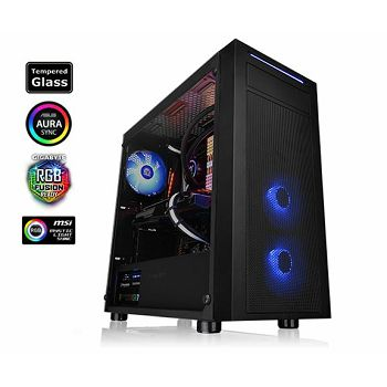 Kućište Thermaltake Versa J22 Tempered Glass RGB Edition