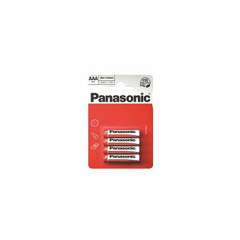 PANASONIC baterije R03RZ/4BP EU Zinc Carbon