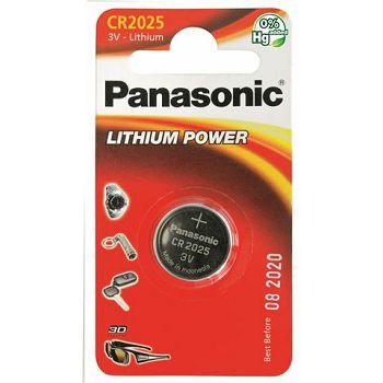 PANASONIC baterije CR-2025EL/1B  Lithium Coin