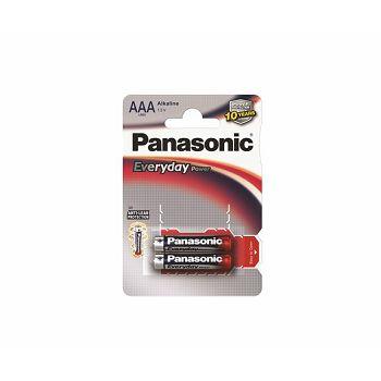 PANASONIC baterijeLR03EPS/2BP Alkaline Everyday Power