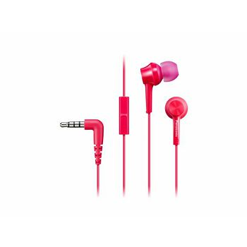 PANASONIC slušalice RP-TCM115E-P roze