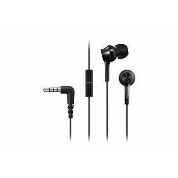 PANASONIC slušalice RP-TCM115E-K crne