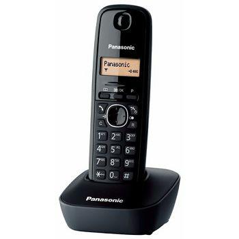 PANASONIC telefon bežični KX-TG1611FXH/PDH crni