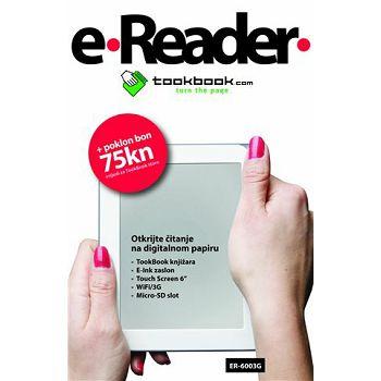 e-reader ER-6003G, e-čitač knjiga
