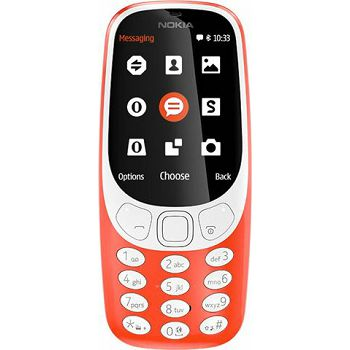 MOB Nokia 3310 Single SIM Red