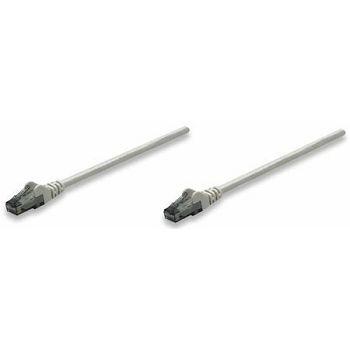 Intellinet prespojni mrežni kabel Cat.6 UTP PVC 0.5m sivi