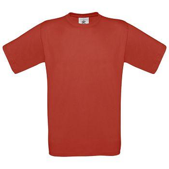 Majica kratki rukavi BC Exact 150g crvena 2XL