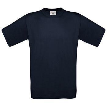 Majica kratki rukavi BC Exact 150g tamno plava S