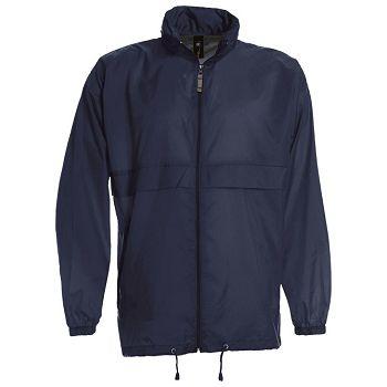 Vjetrovka s kapuljačom zip BC Sirocco tamno plava XL