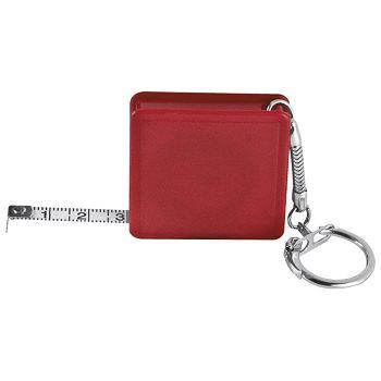 Privjesak za ključeve metar automatski 1m crveni