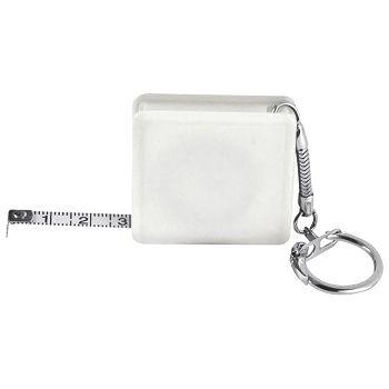 Privjesak za ključeve metar automatski 1m bijeli