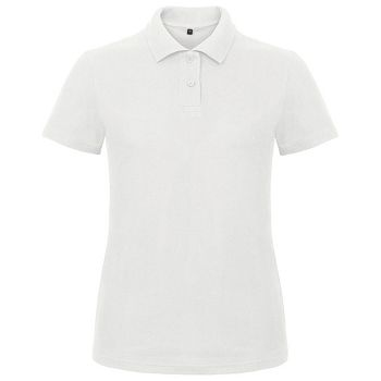 Majica kratki rukavi BC PoloWomen ID001 180g bijela XS