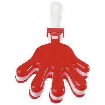 Udaraljke oblik ruke Midoceanbrands KC681305 crvene