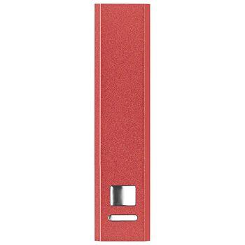 Punjač za mobilne uređaje aluminijski prijenosni Midoceanbrands MO860205 crveni