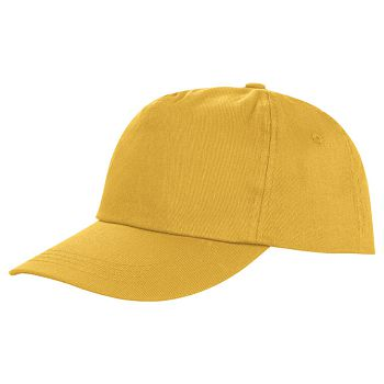 Kapa šilt 5 panela Houston žuta