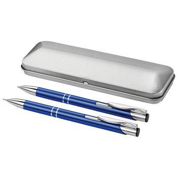 Garnitura olovka kemijska  olovka tehnička u metalnoj kutiji PF Concept 10619901 plava  150