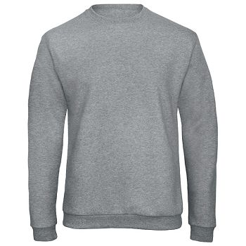 Majica dugi rukavi BC ID202 270g svijetlo siva L
